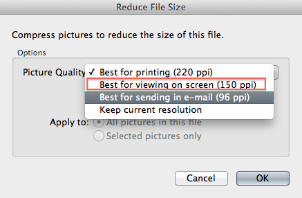 HOW TO – Reduce the size of a PowerPoint file | Digital Writing 101