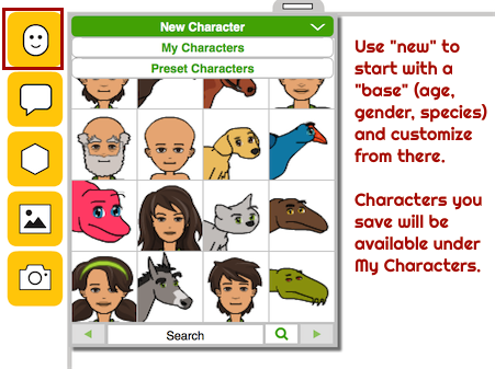 Pixton-character-choices