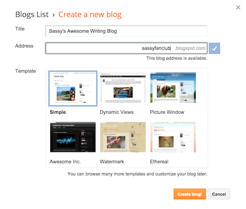 HOW TO – Set up your class blog on Blogger | Digital Writing 101