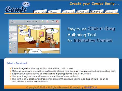comic-lab-website
