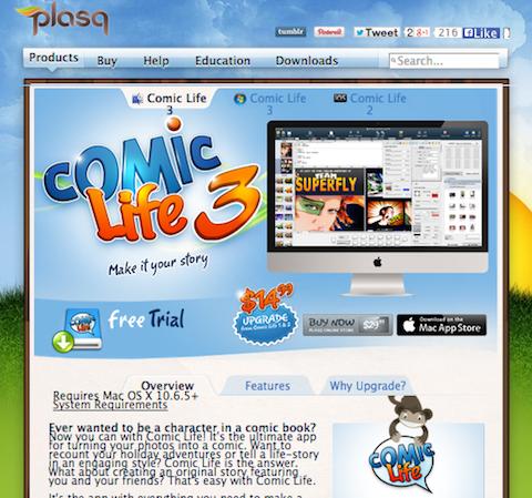 comic-life-website