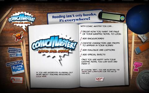comic-master-website