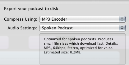 HOW TO – Export an mp3 out of GarageBand | Digital Writing 101