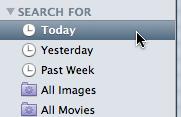 Mac finder sidebar search