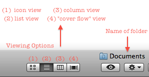 Mac finder window viewoptions