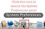 Mac system prefs dock
