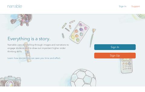 narrable-website