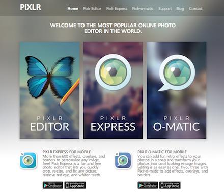pixlr-website