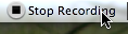 Quicktime stop recording