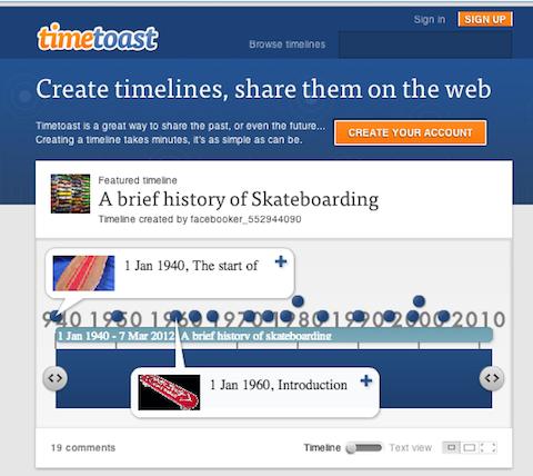 timetoast-website