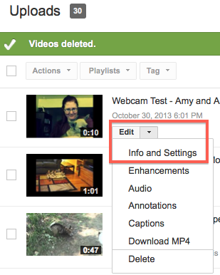 How To Change Your Youtube Video Settings To Unlisted Digital Writing 101